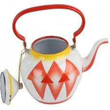 أباريق الشاي من خليط معدني ، احمر - مقاس 2 لتر